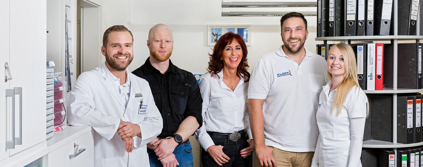 Team Büro Klopf Orthopädie