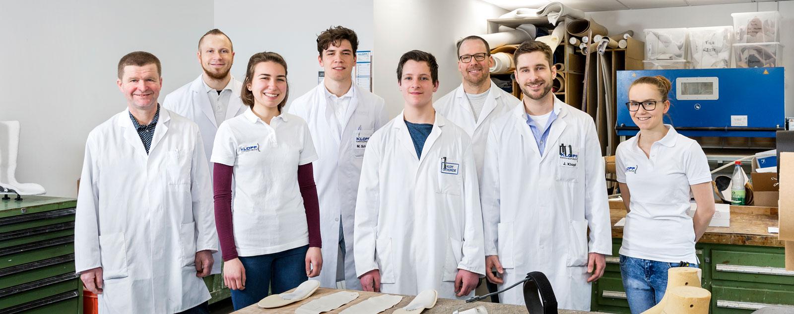 Team Werkstatt Klopf Orthopädie